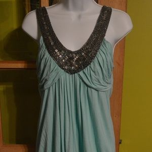 halter with jewels- Vanity, size large